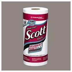 Scott Paper Towel Rolls with Absorbency Pockets