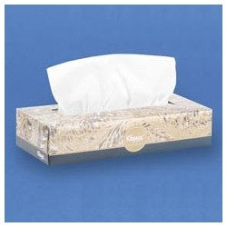 Kleenex Facial Tissue, Flat Dispenser Box, 36 per case