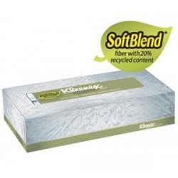 KLEENEX Naturals Facial Tissue, Softblend