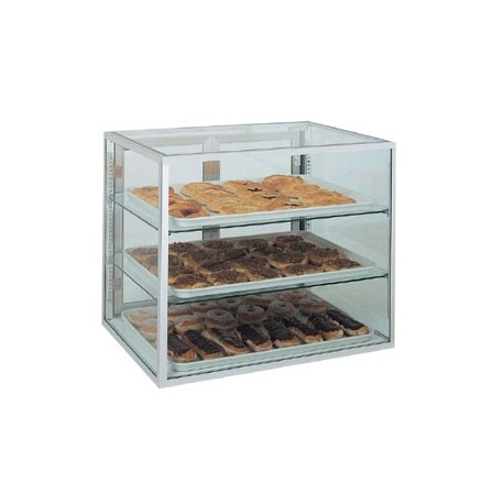 """Counter Top Display Case, 15"""", 2-shelve"""