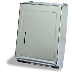 Multi-fold Towel Dispenser  Chrome Metal