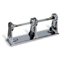Toilet Tissue Dispenser, double roll, chrome