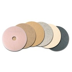 "Ultra High-Speed Pads. Tan Burnishing Pads. 20"" Diameter"