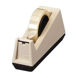 "Heavy Duty Tape Dispenser, 3"" Core, Beige"