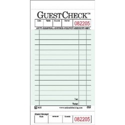 Guest Checks, 1 Part, 14 Lines