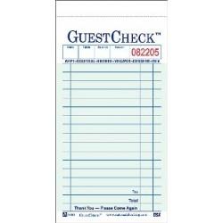Carbonless Guest Checks, 2-Part, 18 Lines