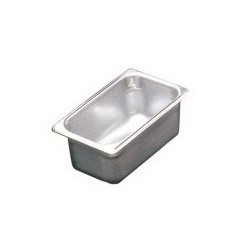 Steam Table Insert Pan, 1/4 Size 4""