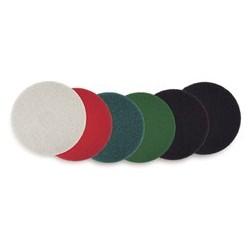 "18"" Standard Thickline Floor Pads, Green"