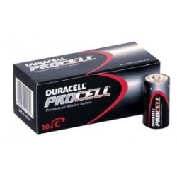 C-Size Alkaline Batteries, Duracell Professional