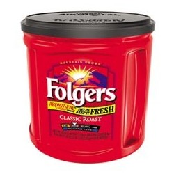Folgers 100% Classic Roast Ground Coffee