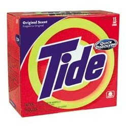 Tide Laundry Powdered Detergent with Bleach, 21-oz.