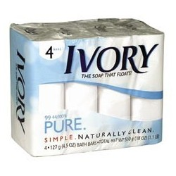 Ivory Bar Soap, 3.1-oz.