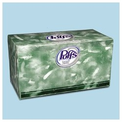 Puffs Facial Tissue, 24 Boxes