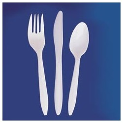 Medium Weight Polypropylene Teaspoons