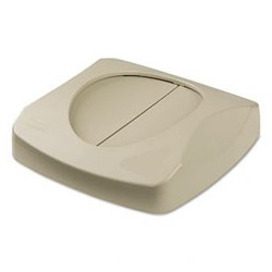 Square Untouchable Swing Top, For Waste Container, Beige