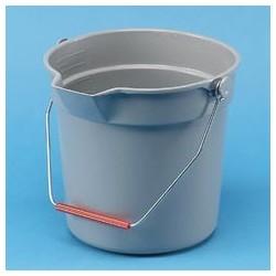Brute Plastic 10-Quart Round Bucket