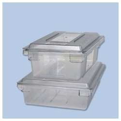 """Food Boxes & Lids. Clear Polycarbonate Box. 9"""" High"""