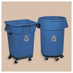 Brute Recycling Square Container, 40-Gal.
