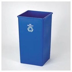 50 Gallon High Volume Square Recycling Container