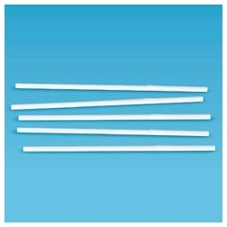 Wrapped Plastic FlexStraws, 7-3/4""