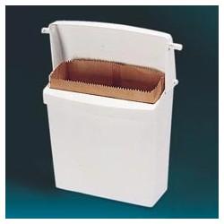 Wall-Mount Sanitary Napkin Receptacle, Plastic