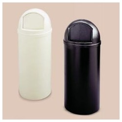 Marshal FireResistant Plastic Containers, 15-Gal.