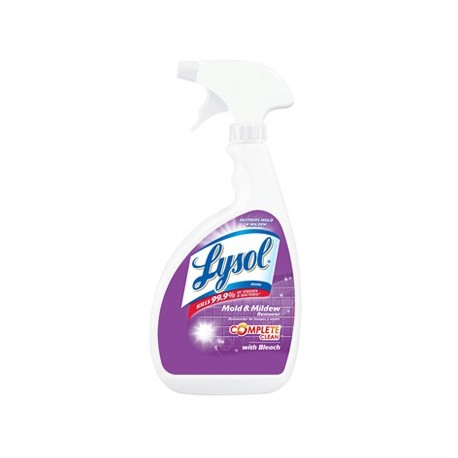 Professional Lysol Mildew Bathroom Cleaner Plus Bleach Metro Supply Equipment Co