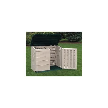 Large Horizontal Outdoor Storage Shed