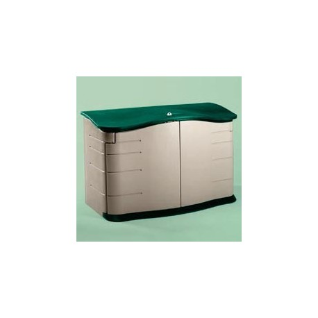 Horizontal Outdoor Storage Shed