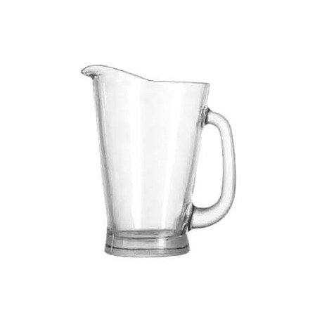 55 OZ. BEER PITCHER, glass
