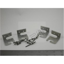 Rack Hanger Kit, For Inter-Metro Heated Cabinet