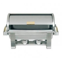 Stainless Steel Chafer, Full Size, Roll Top