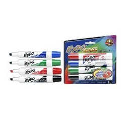 Expo Scented Whiteboard Marker, 4 Pack