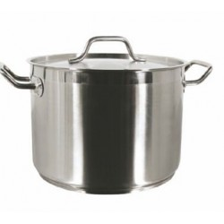 Stainless Steel Stock Pot, 40 qt