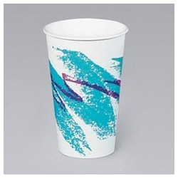 Paper Hot Cups, Jazz, 12-oz.