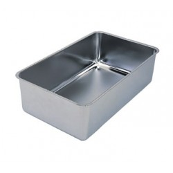 """Spillage Pan, 6-1/4"""" Deep, S.S."""