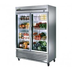 Refrigerator, Reach-in, Two-Section, 49 cu. ft.