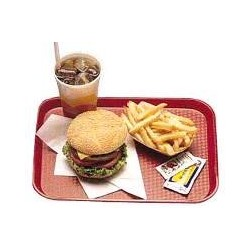 "Cambro Fast Food CafeteriaTrays, 14"" x 18"""
