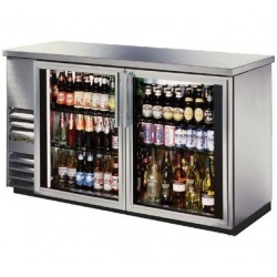 """Back Bar Cooler, Two-section, 24"""" deep, 35-3/8"""" high"""