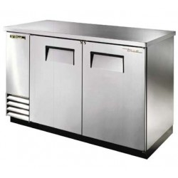 """Back Bar Cooler, Two-section, 37"""" high, (134)"""