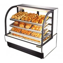 Curved Glass Non-Refrigerated (Dry) Bakery Case