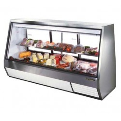 Double Duty Deli Case, see-thru, 46 cu. ft., Low