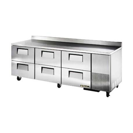 Work Top Refrigerator, Three Section, 30.9 cu.ft.