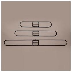 "Clip-On Dustmop Frames 18"" x 3-1/4"""