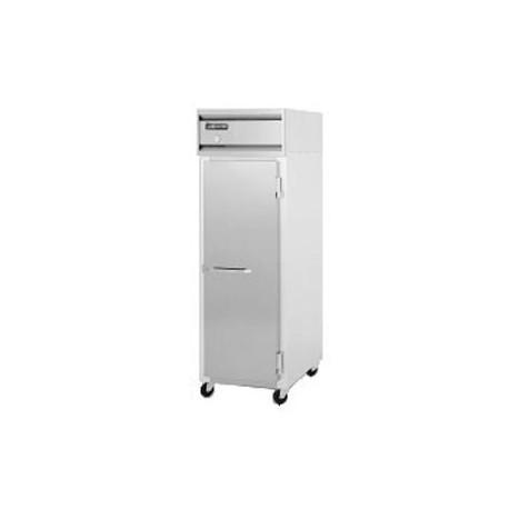 Commercial Reach-In Refrigerator, 1-Door, Solid, 20 Cu. Ft.