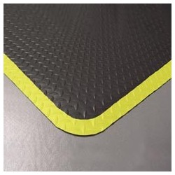 "Diamond Plate Antifatigue Mat, 36"" x 60"""