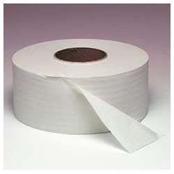 "Jumbo Roll Toilet Tissue, 9"" 1000'"