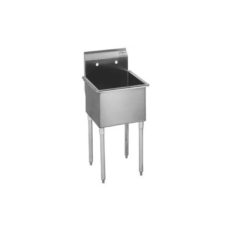 1-Hole Utility Sink, Non NSF, No Drainboards, 27""