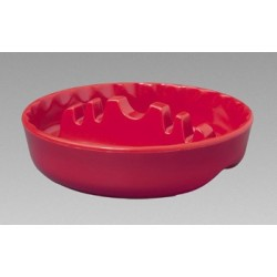 "5"" Round Plastic Safety Ashtrays (Colors)"