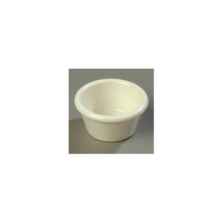 Ramekin, 2 oz., smooth, melamine, NSF
